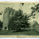 Russell Sage Memorial Chapel Northfield Seminary East Northfield Massachusetts 1937 postcard