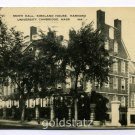 Smith Hall Kirkland House Harvard University Cambridge Massachusetts 1948 postcard