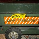 """VINTAGE MILITARY TOY TRUCK BUDDY """"L"""" ARMY TRANSPORT VEHICLE AMERICAN WAR Metal"""