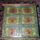 Spice Cabinet 6 Drawer Wooden Apothecary Style jewelry, Storage; chinese? india?