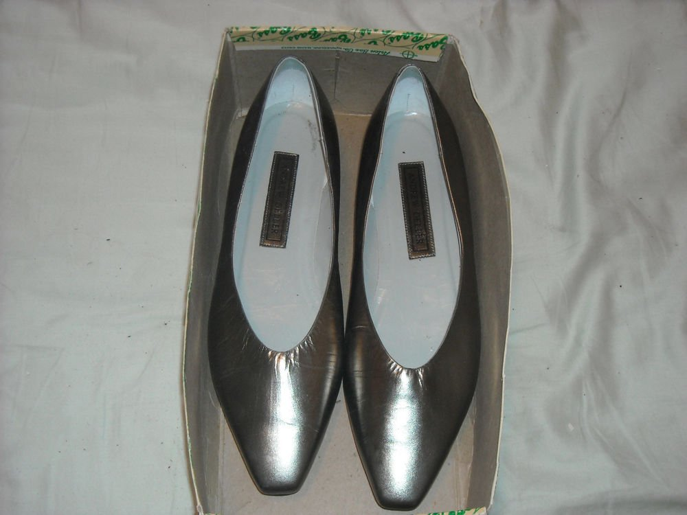 Andrew Geller, size 9, pointed toe, low, wedges 39-lux I OB