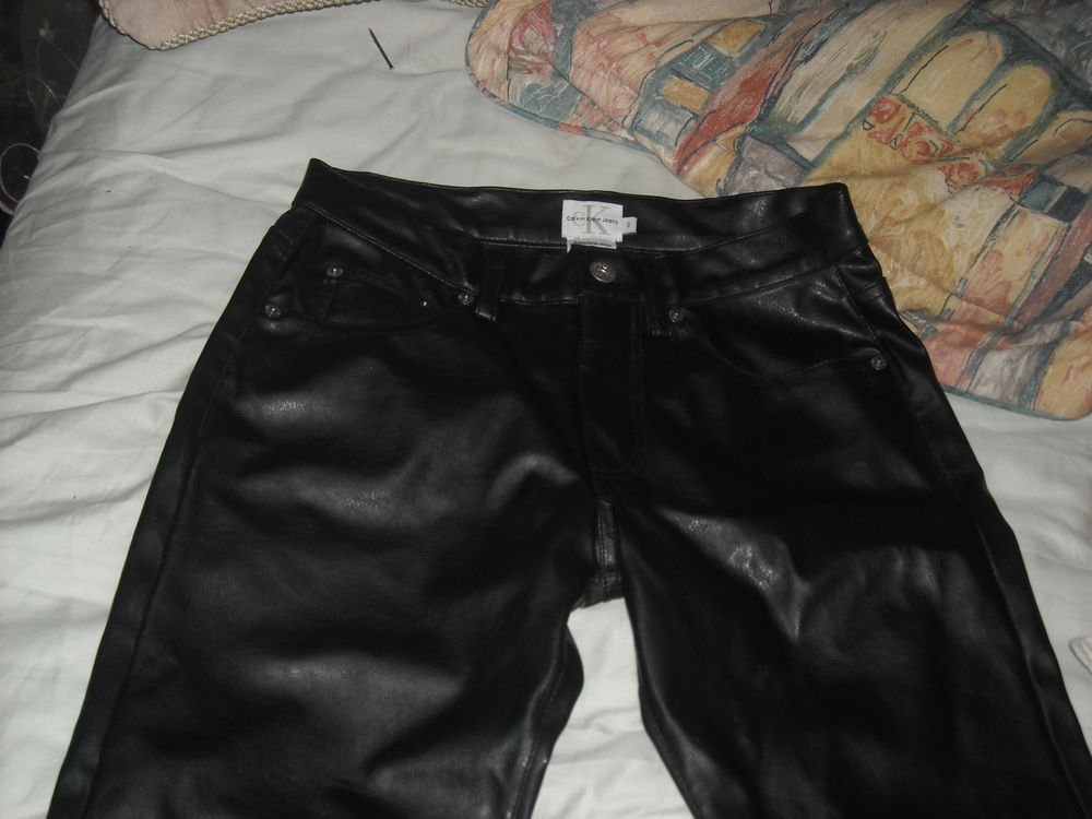 Women's Calvin Klein BlackJeans/Pants Size 3 Nylon Shell