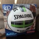 Spalding Outdoor Volleyball King of the Beach Green Plaid Sand Grass stitched