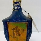 Beam's Choice 4/5 Quart Collectible Painted Glass Bourbon Bottle The Scout Empty
