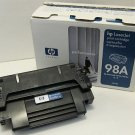 Genuine HP 98A (92298A) Black Toner Cartridge OPENED ITEM