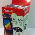 Genuine Canon BC-22e Photo Ink Cartrudge For BJC-4200 BJC-4300 BJC-4550