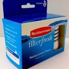 Rubbermaid Filter Fresh Replacement Filter Pack of 2 Filters Filterfresh