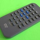 Small Grey DVD Video Remote W/ Blue Navigation Buttons Model # P05003-2