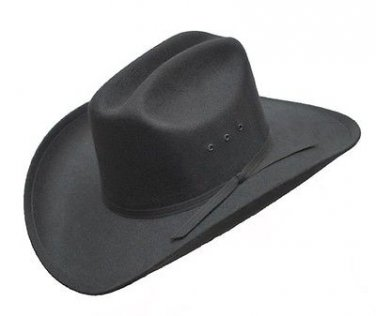 Western Rough Rider Faux Felt Cowboy Hat Rodeo Cattleman Men Woman Kids ALL SIZE