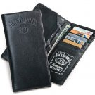 Licensed Jack DanielsSignature CollectionRodeo Wallet - BLACK or BROWN Color