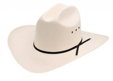Western Cowboy Cattleman Straw Hat Rodeo White Color - Adult & Kids S,M,L,XL