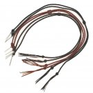 "Western Express Leather Stampede String w/ Cotter Pins 22 1/2"" Black,Brown,Rust"