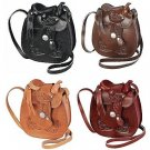 """Western Express Small Hand Tooled Leather Saddle Style Women's Purse 5"""" x 6"""""""