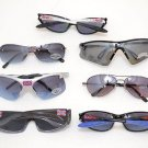 "Lot of 12 (Dozen) NEW Assorted ""Rebel"" Fashionable Sunglasses - Multiple Designs"