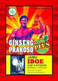 30 Packs of Ginseng Prakoso Plus for Male stamina & endurance indonesian herbs