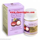 50  indonesian herbs capsules of pure mangosteen skin extract for cancer