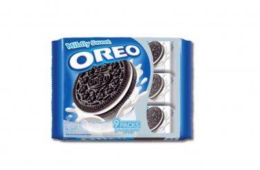 Oreo Mildy Sweet Vanila Cream Sandwich Cookies