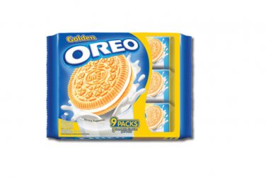 Oreo Golden Oreo Vanilla Cream Sandwich Cookies