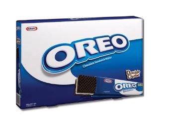 Oreo Chocolate & Vanilla Cream Sandwich Wafer