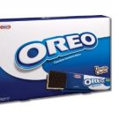 Oreo Chocolate & Vanilla Cream Sandwich Wafer