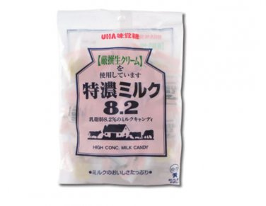 Japan UHA High Concentrated 8.2 Milk Candy