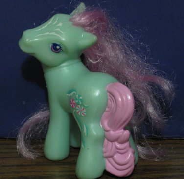 My Little Pony G3 McDonalds Minty Happy Meal Toy - Fancy Symbol - 2008