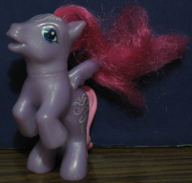 My Little Pony G3 McDonalds Starsong Pegasus Happy Meal Toy - Fancy Symbol - 2008