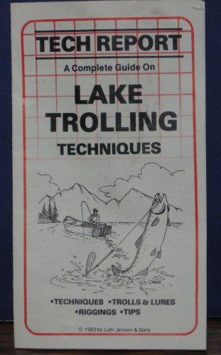 Luhr Jensen Tech Report Complete Guide on Lake Trolling Techniques 1983 Vintage