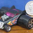 "Hot Wheels Fatbax Duplified Black Funny Car - 2"" x 2 1/2"" - 2004"