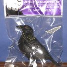 "Halloween Motion Sensing Squawking Crow - 3"" - New In Package"