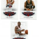 "(3)2012-13 PANINI MARQUEE ROOKIES #511 / 519 / 536 ""FREE SHIPPING"""