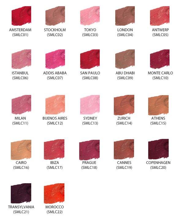 NYX Soft Matte Lip Cream - Full Set: All 22 Colors - VelvetBlush