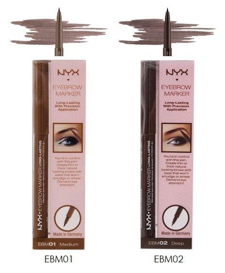 NYX NYX Eyebrow Marker - Choose Your Color (EBM01 or EBM02) - VelvetBlush