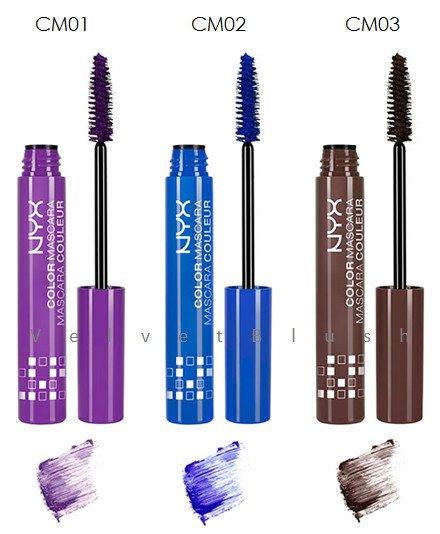 NYX Color Mascara - Choose Your Favorite Color - VelvetBlush