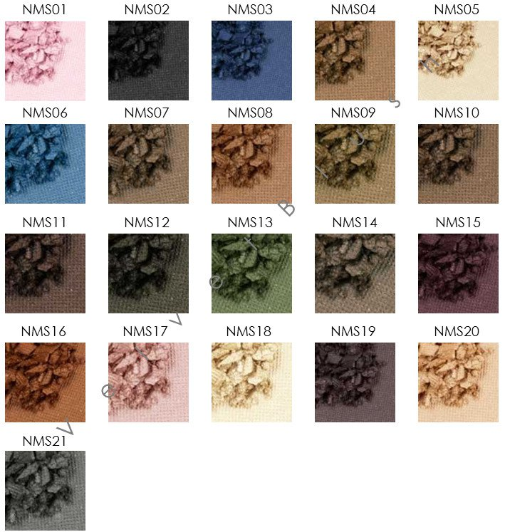 NYX Nude Matte Shadow - Choose Your Favorite 3 Colors - NMS - VelvetBlush