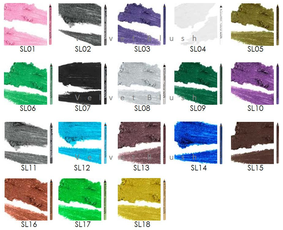 1 NYX Slide On Pencil (SL) - Choose Your Favorite Color - VelvetBlush
