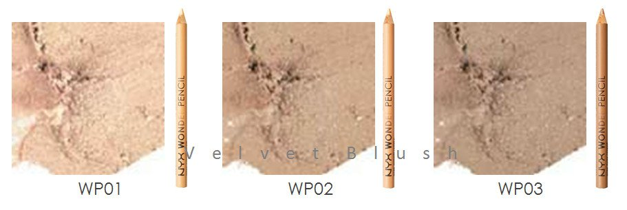 1 NYX Wonder Pencil - Concealer (WP) Choose Your Favorite Color - VelvetBlush