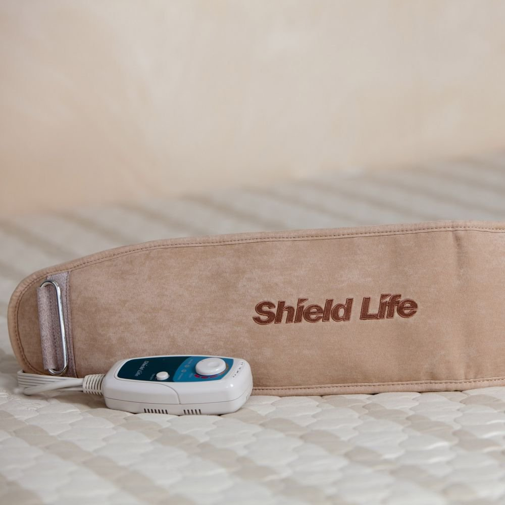 Shield Life TheraBelt Back Warmer - Far Infrared Heating Pad with Magnets