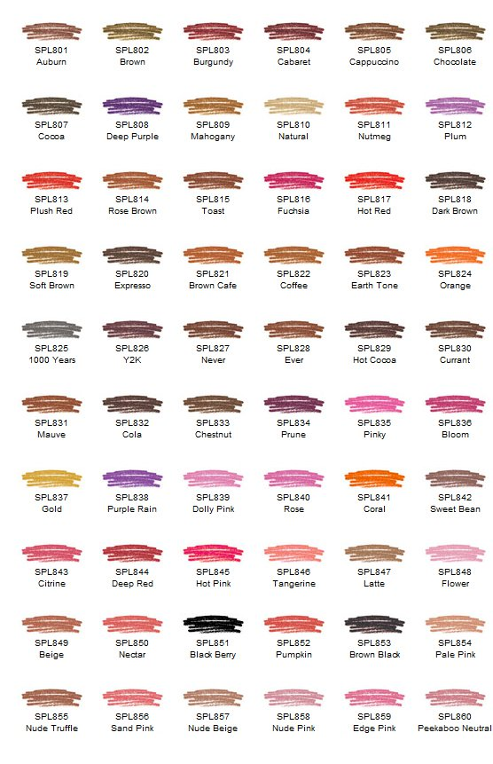 NYX Slim Lip Pencil, Choose Your Favorite 8 colors - SPL
