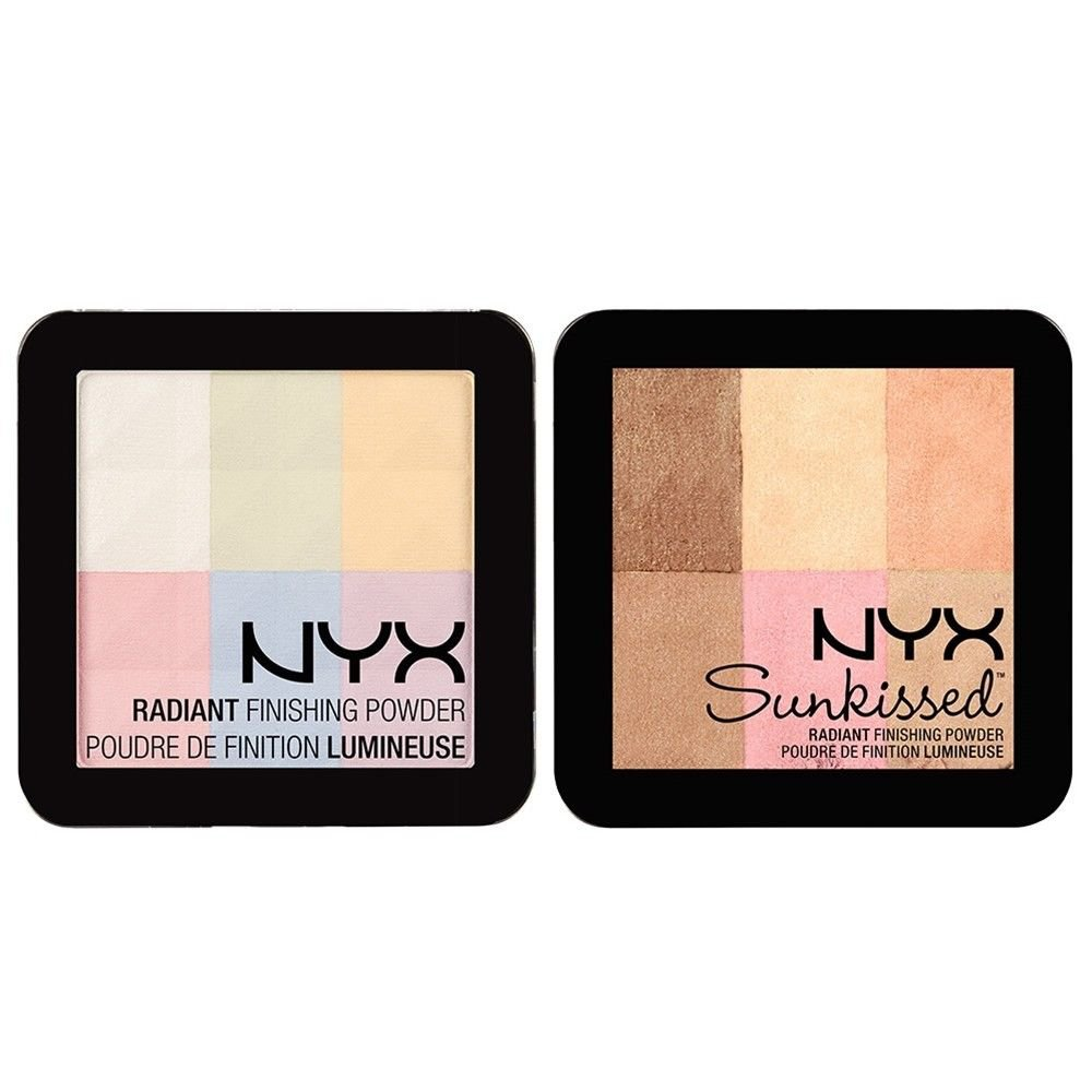 NYX Radiant Finishing Powder Blush RFP 01 and RFP 02 - VelvetBlush