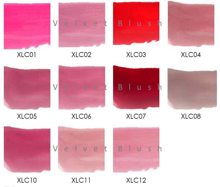 NYX Xtreme Lip Cream (XLC) Full Set All 11 Colors - VelvetBlush