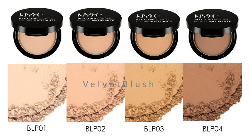 2 NYX Blotting Powder - Choose Your Favorite 2 Colors - VelvetBlush