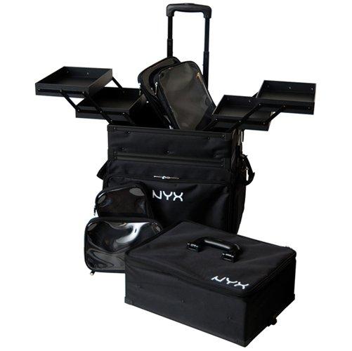 NYX 3 Tier Stackable Makeup Artist Train Case MATC06 - VelvetBlush