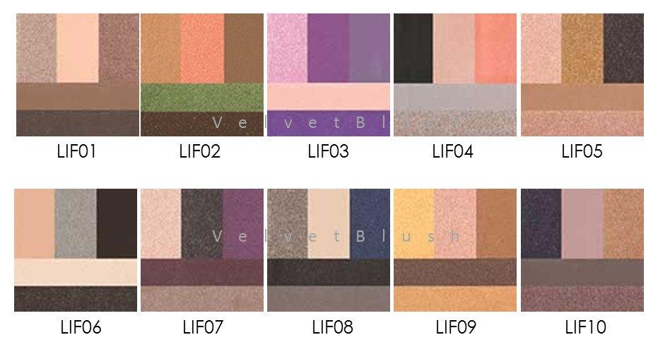 6-NYX Love in Florence Eye Shadow Palette - Choose Your Favorite 6 - VelvetBlush