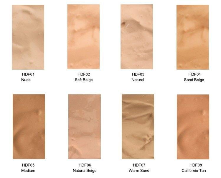 NYX HD Studio Photogenic Foundation - Full Set - All 8 Colors!
