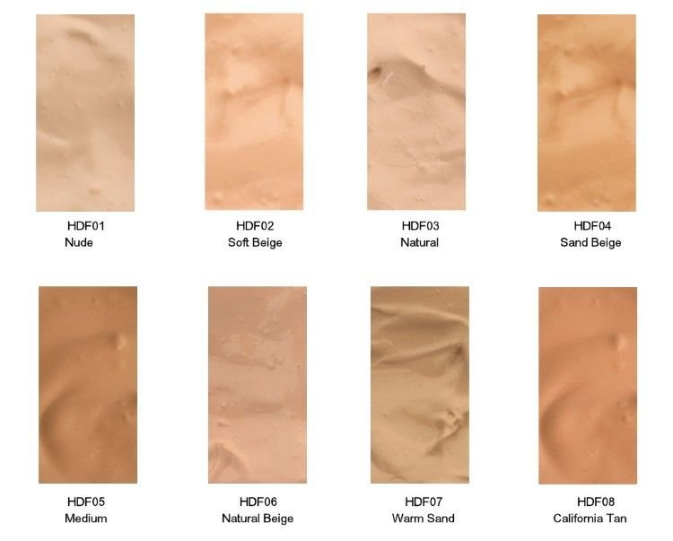NYX HD Studio Photogenic Foundation - Choose Your Favorite 3 Colors!