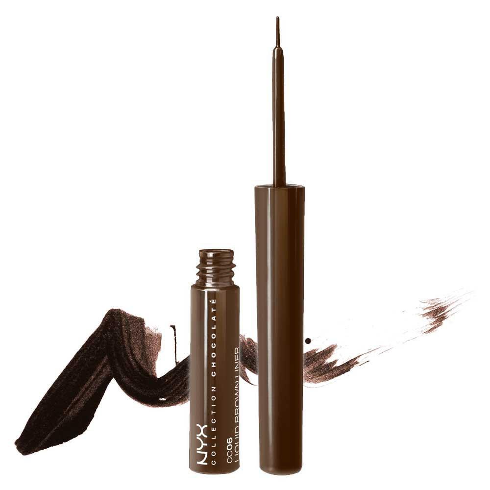 1 NYX Collection Chocolate Liquid Brown Liner (CC06) - VelvetBlush