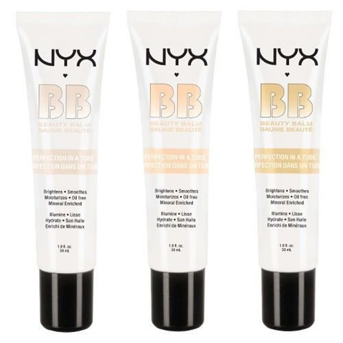 NYX BB Cream - BBCR - Set of all 3 Shades