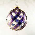 Hand blown Christmas ornaments