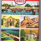 Texas Enco Road Map 1961